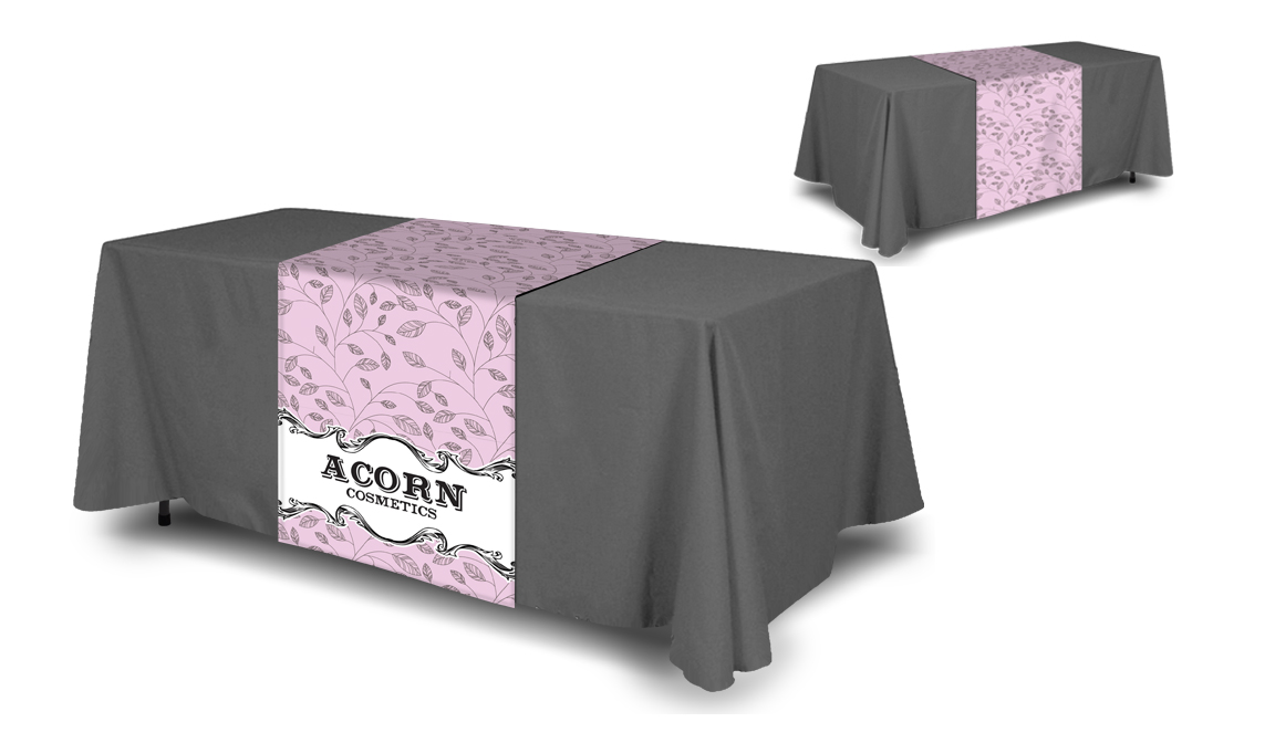 Full Color Table Runner Table Cloth Not Included Next