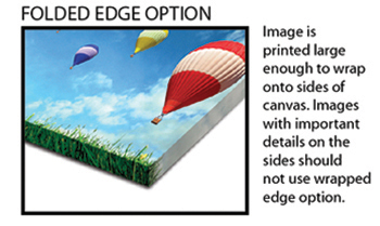 Folded Edge Option