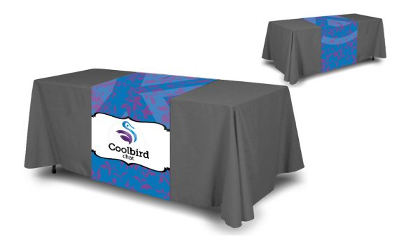 Admirable Full Color Table Runner Table Cloth Not Included Home Remodeling Inspirations Cosmcuboardxyz